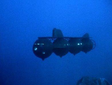 concrete sphere deep diving submarine