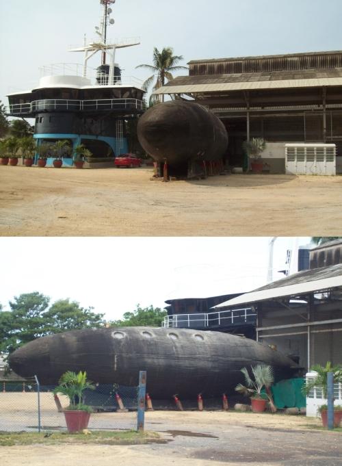 submarine yacht habitat